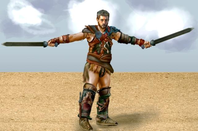 spartacus last fight
