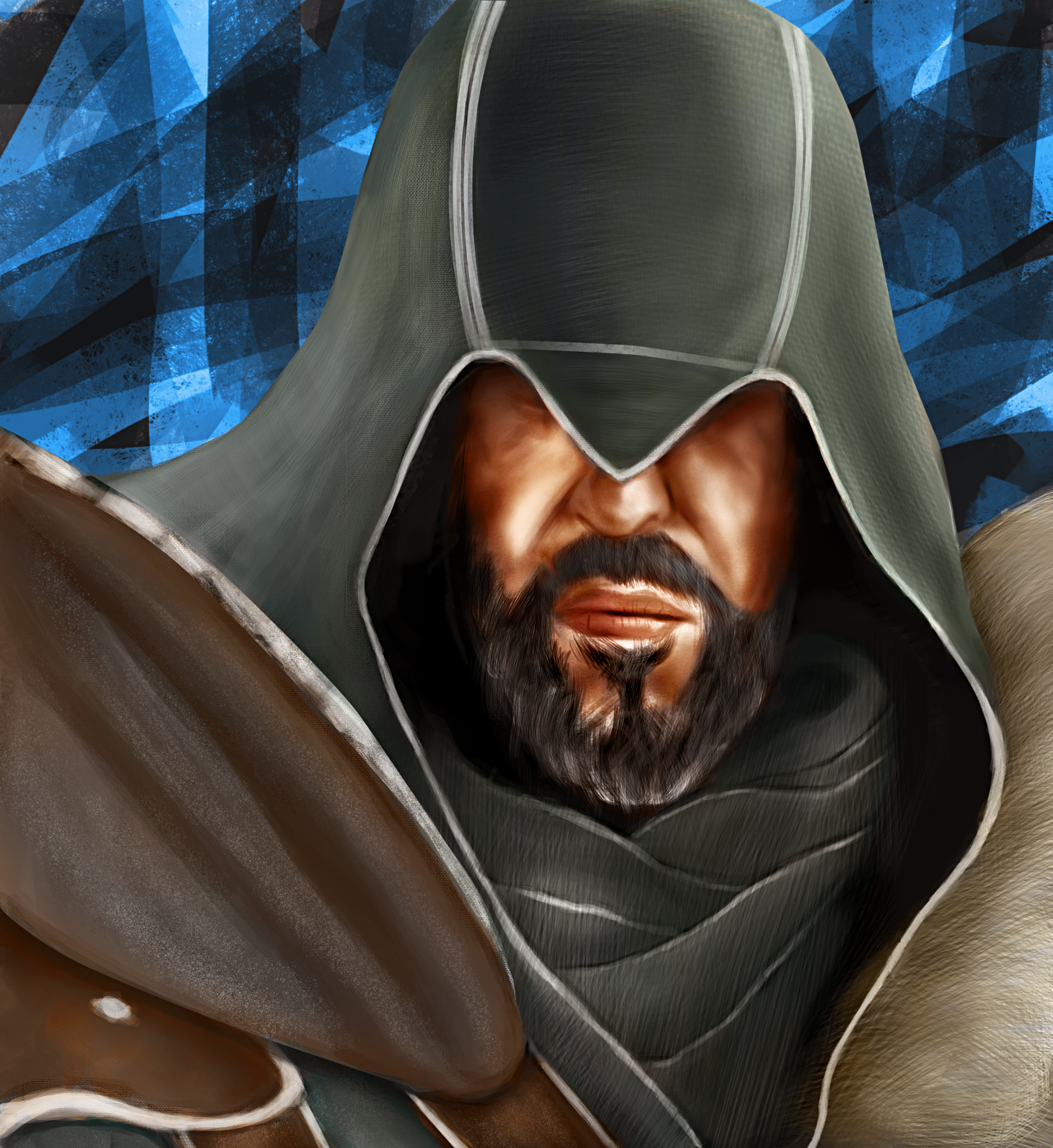 Ezio Auditore Da Firenze Fan Art Tuncay Vural